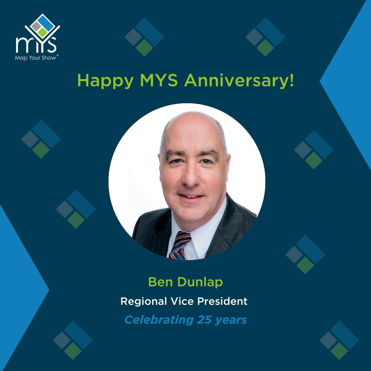Congratulations to Ben Dunlap on 25 years with GBM/MYS!